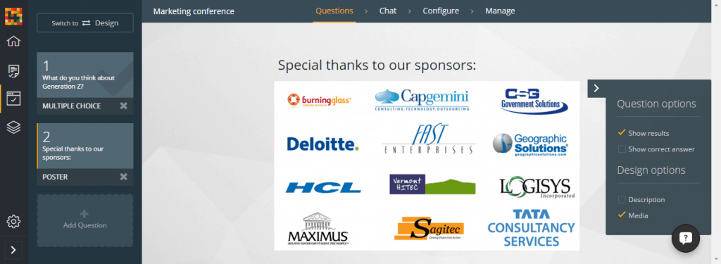 engageform sponsors