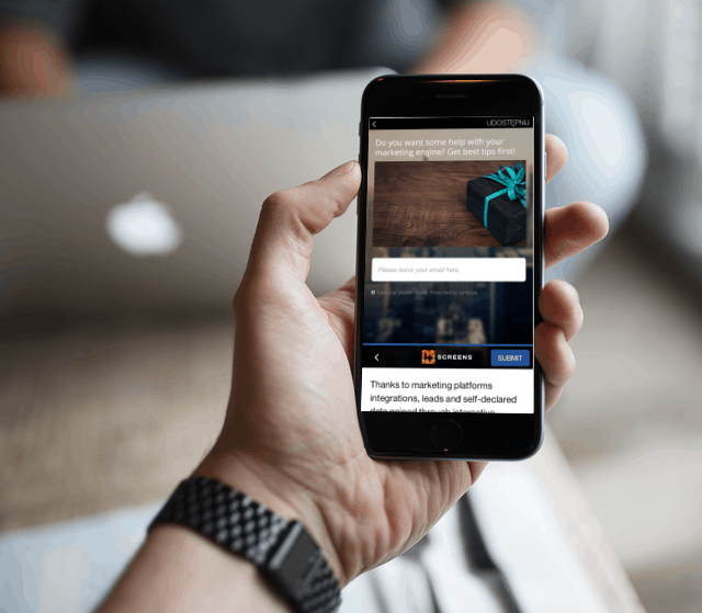 generate leads through interactive content in instant articles