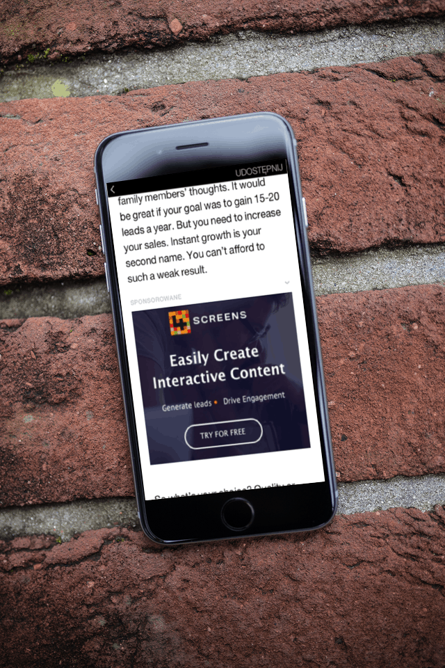 native ads in instant articles