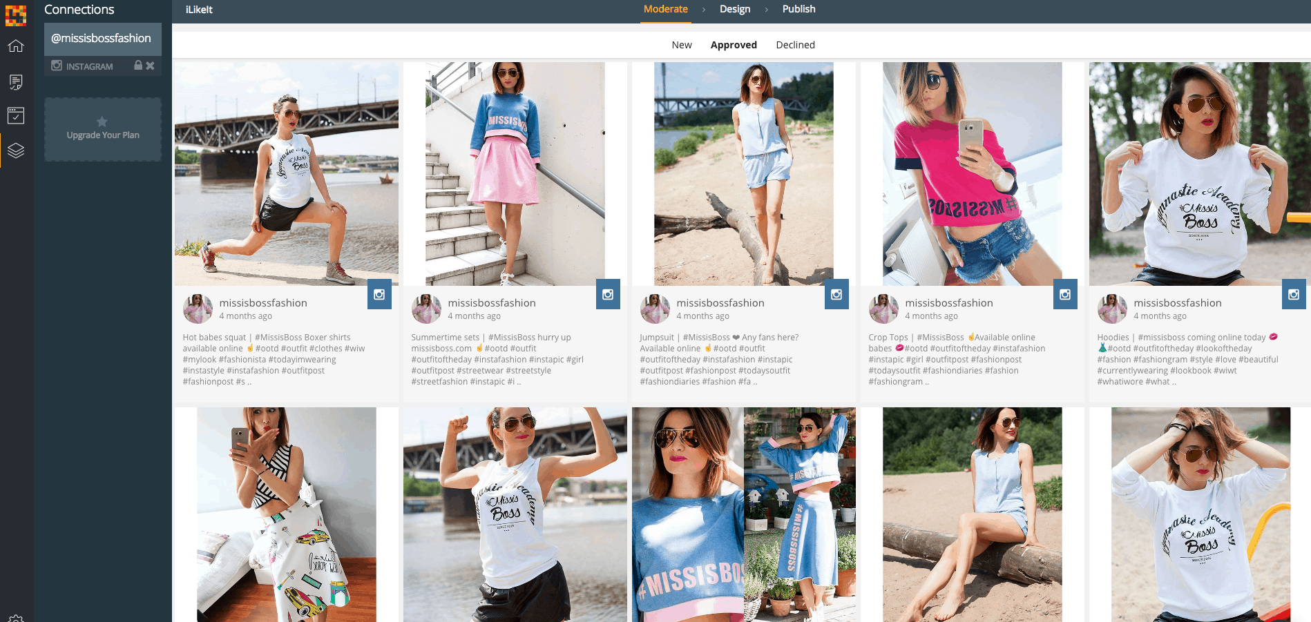 how to make Instagram widget shoppable