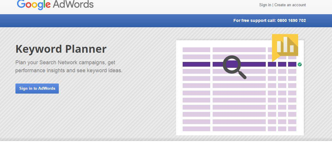 how to use Google keyword planner for content marketing