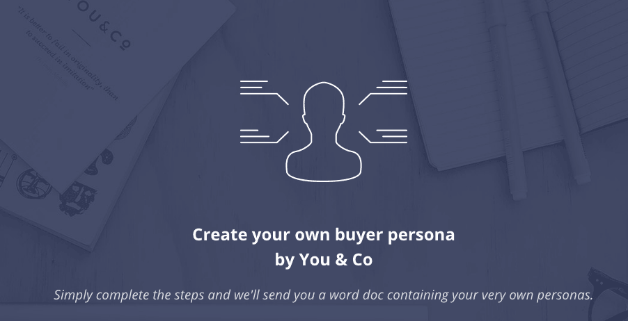 buyer personas creator for content marketing